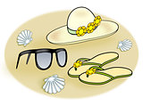 Accessories for the Beach,
