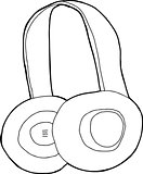 Outlined Headphones