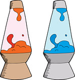 Various Lava Lamps