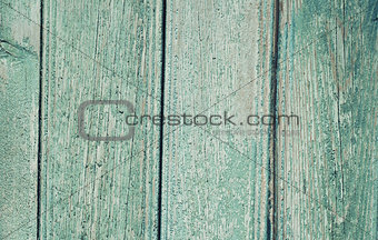 old painted wooden board