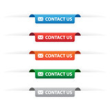 Contact us paper tag labels