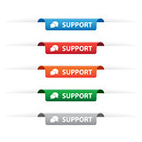 Support paper tag labels