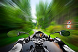 motorcycle exessive speed
