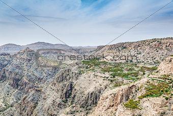 Oman Saiq Plateau Village
