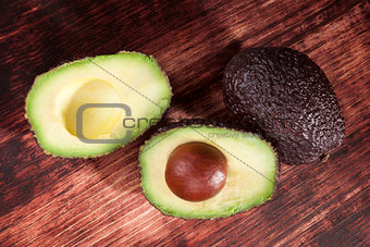Avocado background.