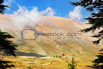 Beautiful mountains landscape?