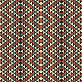 Abstract geometric triangle pattern