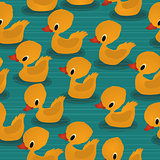 Baby ducks pattern