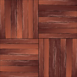 Vintage hardwood floor pattern