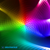 abstract spectrum fractal background