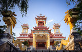 0029-Du Sinh - oriental style church - Dalat city