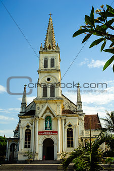 0030-Old church in Vinh city - Nghe An province - Central Vietnam - SouthEast Asia