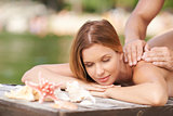 Massage on resort