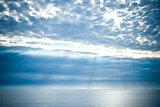 sea and clouds sky