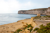 Cliffs at Xlendi, Gozo, Malta
