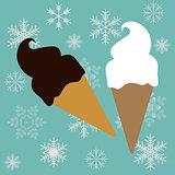 Ice-creams cone