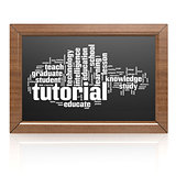Blank blackboard tutorial