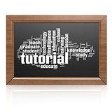 Blank blackboard tutorial