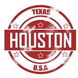 Houston stamp