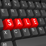 Sale keyboard