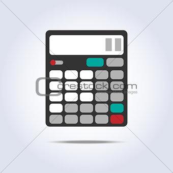 calculator simple icon vector illustration