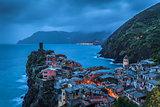 Vernazza village in Cinque Terre, Italy