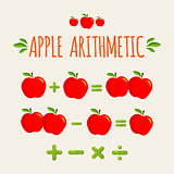 Red apple arithmetic