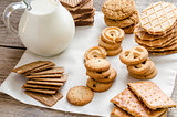 Butter and almond cookies