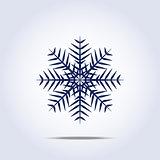 Snowflake icon. Vector illustration