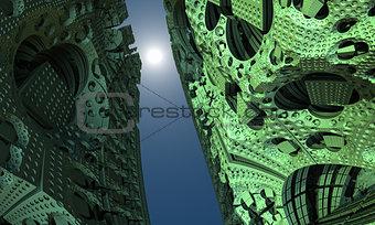Alien Building Fractal