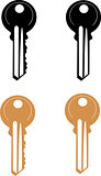 Vector Door Key