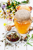Honey and Herbal tea
