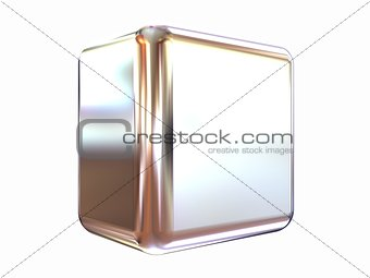 Chrome shine cube