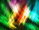 abstract colored strokes