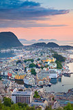 Alesund, Norway.