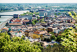 View of Buda, western part of Budapest. Hungary