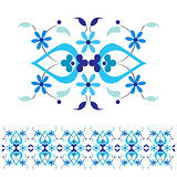 Ottoman motifs design series with thirty-nine