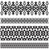 Ottoman motifs design series with thirty-seven