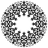 Ottoman motifs design series with thirty-three