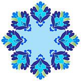 Ottoman motifs design series with twelve version