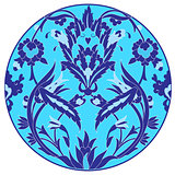 Ottoman motifs design series with twenty one version