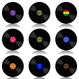Vinyl record-LP set
