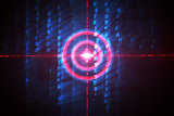 Digital target over computing matrix