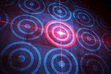 Digital target over computing design