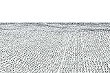 Digitally generated binary code landscape
