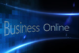 Business online on digital screen