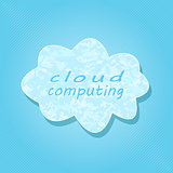 White Cloud Computing Concept