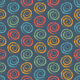 Geometric Seamless Pattern with Spirals