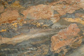 abstract landscape in slate rock