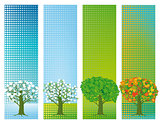 Four seasons banners